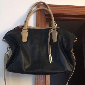 Two-tone handbag/tote